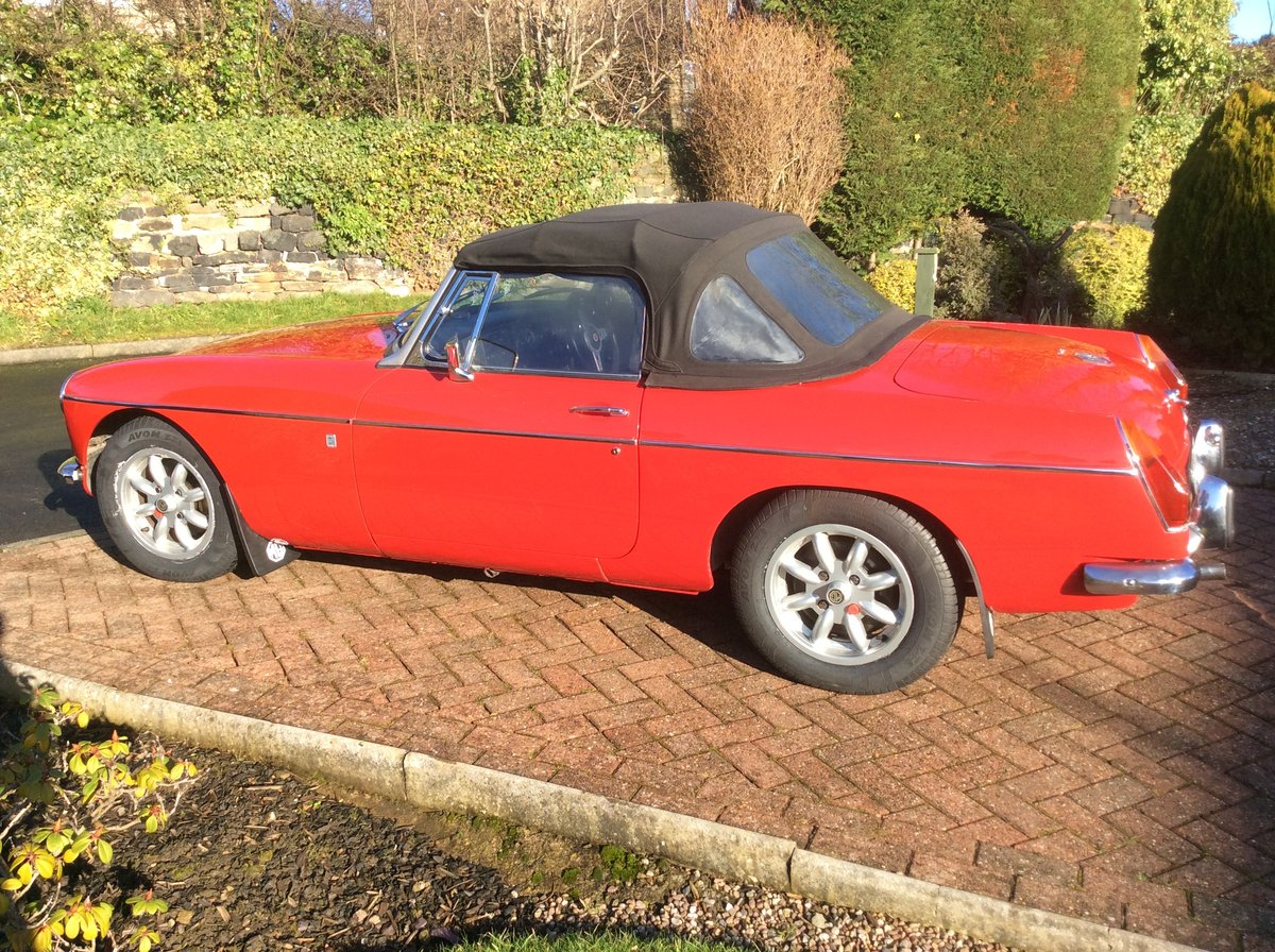 1971 MGB roadster  For Sale (picture 6 of 6)