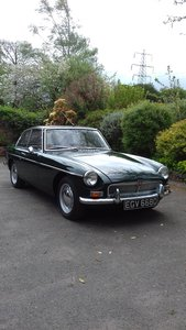 Very Low Mileage 1966 MGB GT