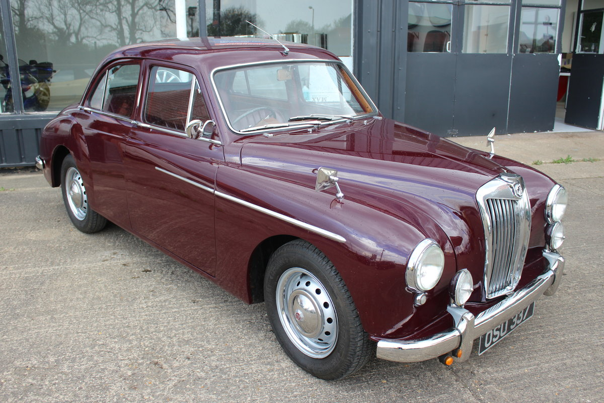 1955 MG MAGNETTE ZA,ONLY 15000 MILES FROM NEW. For Sale (picture 1 of 6)