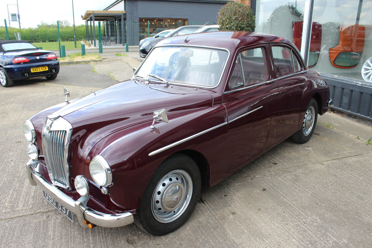 1955 MG MAGNETTE ZA,ONLY 15000 MILES FROM NEW. For Sale (picture 2 of 6)