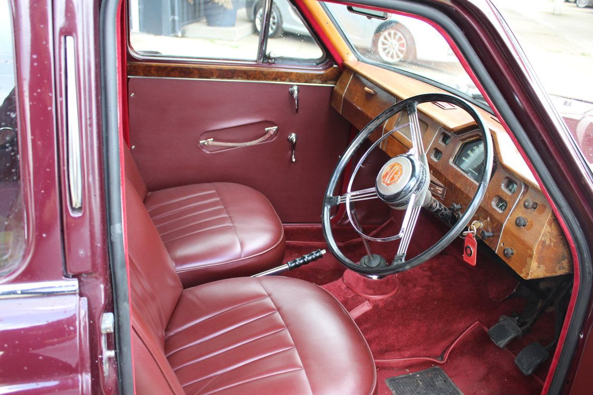 1955 MG MAGNETTE ZA,ONLY 15000 MILES FROM NEW. For Sale (picture 3 of 6)