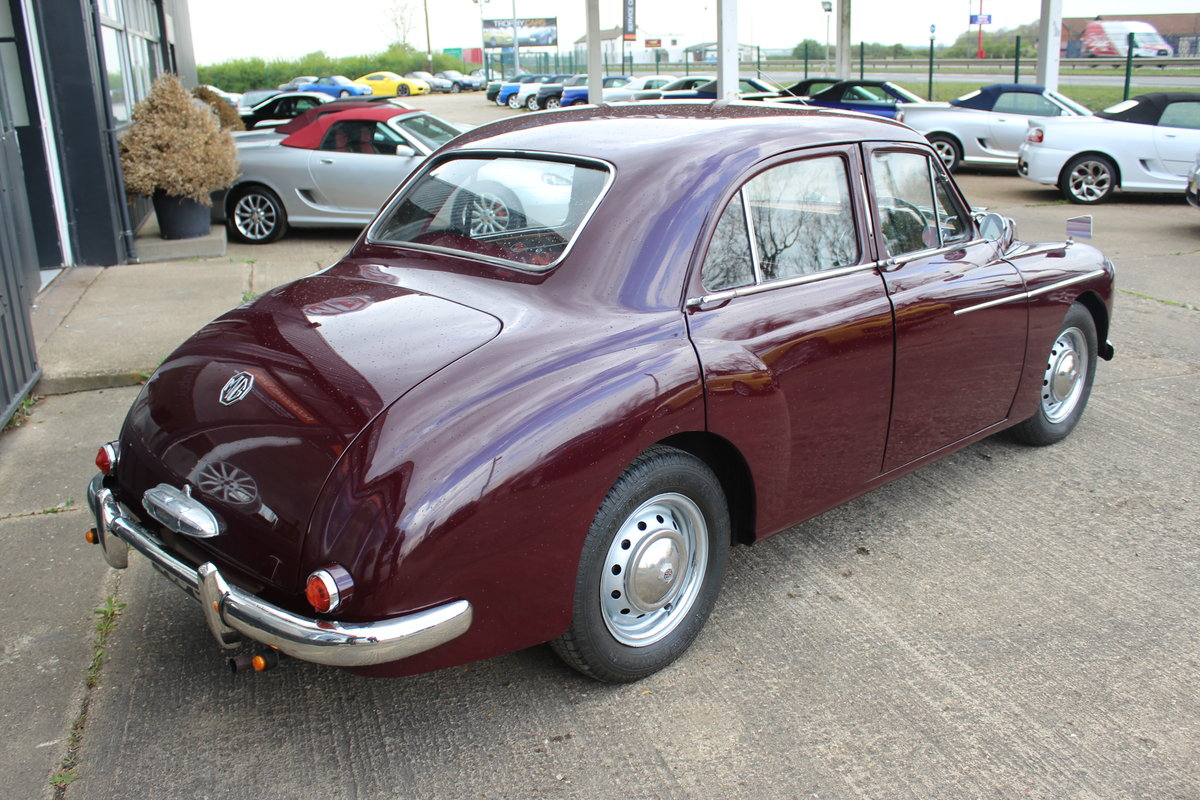 1955 MG MAGNETTE ZA,ONLY 15000 MILES FROM NEW. For Sale (picture 5 of 6)