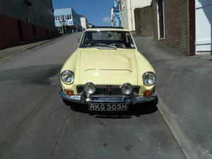 1970 Beautiful MGC For Sale