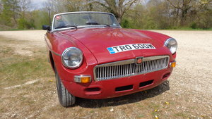 1981 MGB  RHD  For Sale