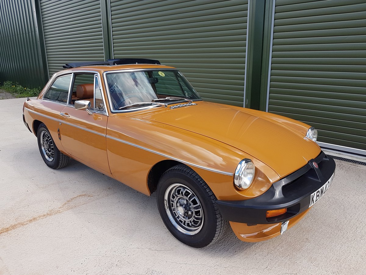 1975 MG MGB GT V8 Low Mileage, Beautiful original condition For Sale (picture 1 of 6)