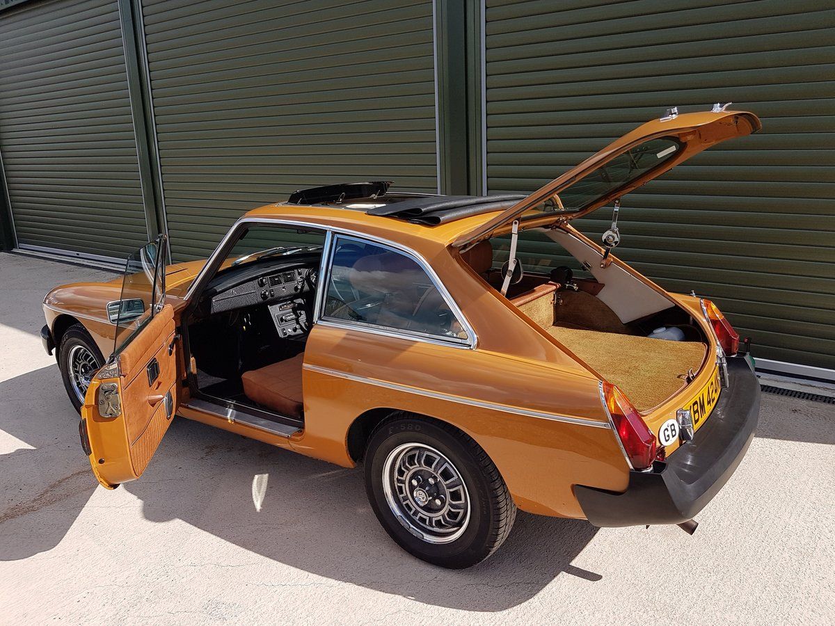 1975 MG MGB GT V8 Low Mileage, Beautiful original condition For Sale (picture 5 of 6)