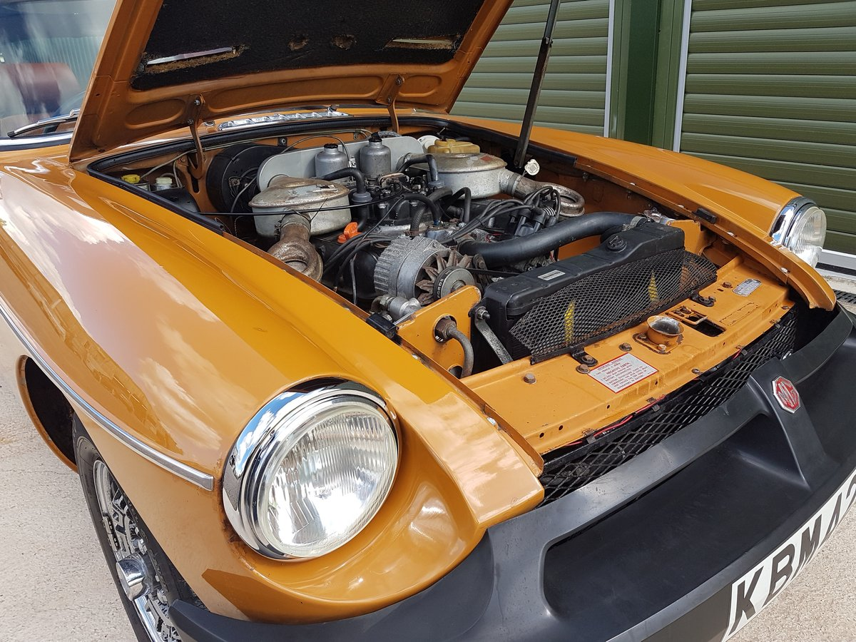 1975 MG MGB GT V8 Low Mileage, Beautiful original condition For Sale (picture 6 of 6)