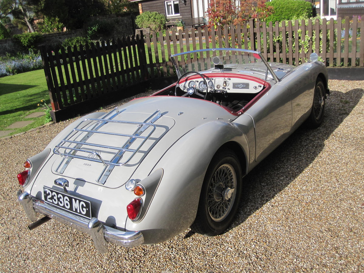 1959 MGA Roadster LHD-1800cc engine - SALE PENDING SOLD (picture 3 of 6)