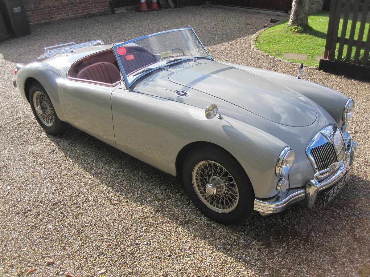 1959 MGA Roadster LHD-1800cc engine - SALE PENDING SOLD (picture 1 of 6)