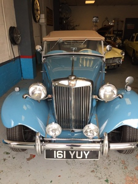 MG TD MK II - 1951 For Sale (picture 1 of 5)