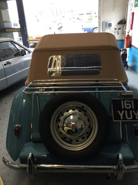 MG TD MK II - 1951 For Sale (picture 3 of 5)