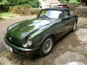 1994 MG RV8 53,000 miles Just £15,000 - £18,000