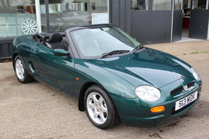 1998 MGF,ONLY 4000 MILES,1 OWNER,HEADGASKET,BELT & PUMP,RAC