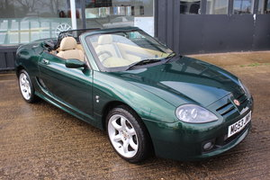 2003 MGTF,HARDTOP,TAN INTERIOR,WOOD TRIM,23000 MILES,1YR WARRANTY