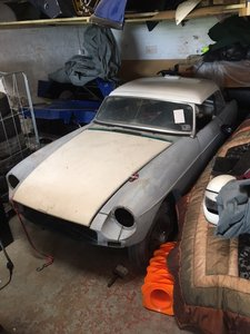 1963 MGB Roadster FIA Project