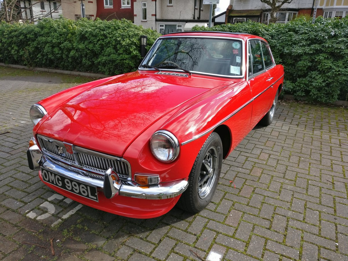 1973 MG MGB GT, chrome, overdrive, lots of spares For Sale (picture 1 of 6)