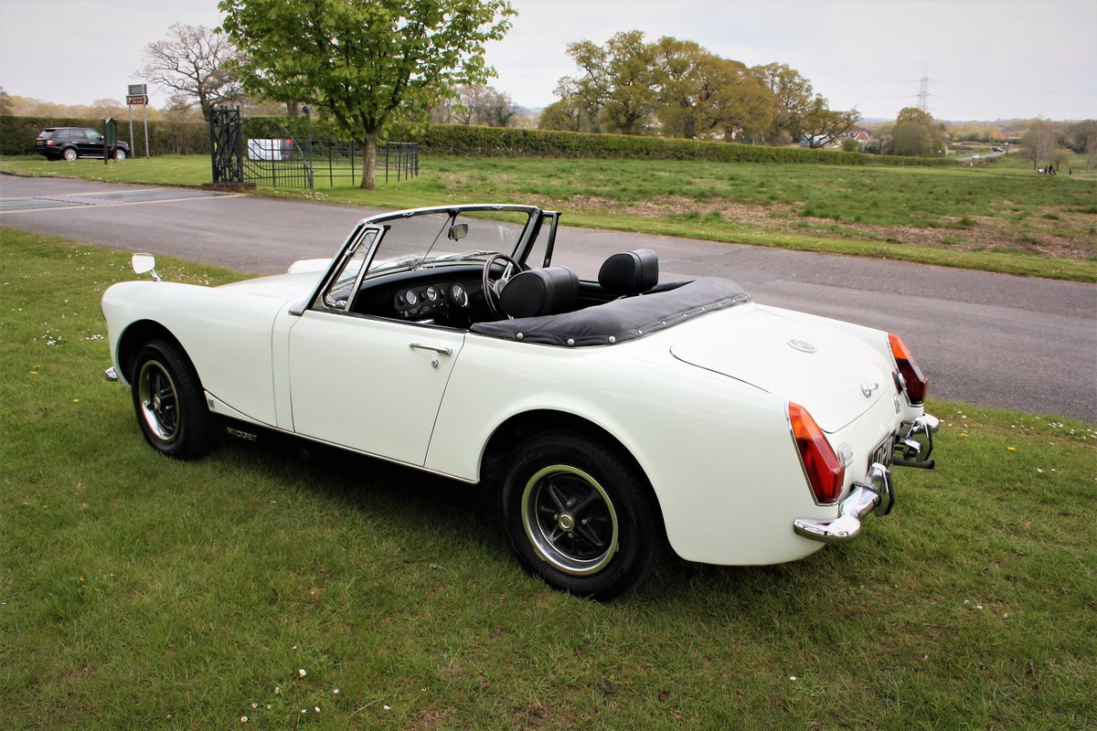 1973 Mg Midget 1275 RWA For Sale (picture 2 of 6)