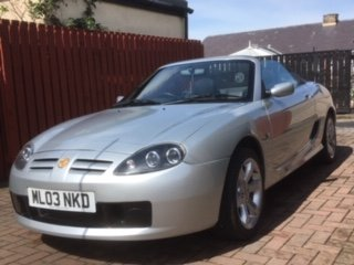 Beautiful MGTF - 2003  For Sale