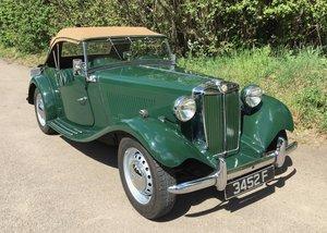 1953 Original UK RHD TD. Last year of production. For Sale