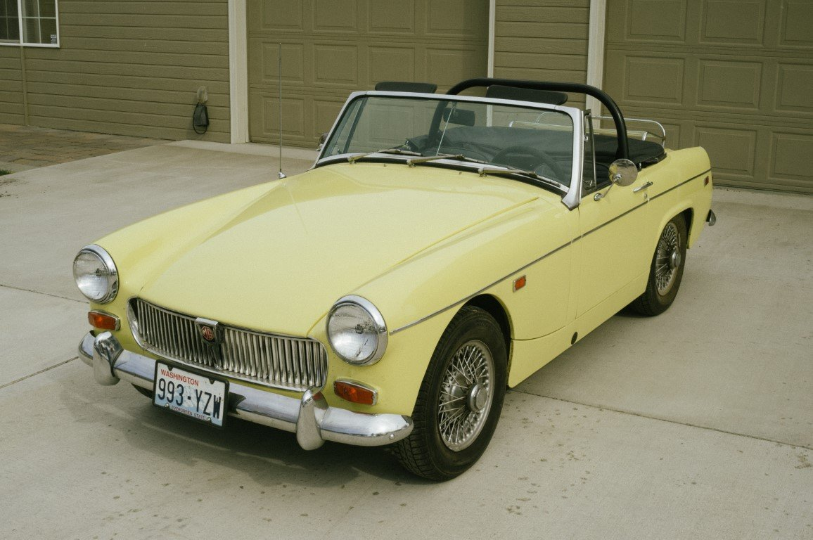 1969 MG Midget NO RESERVE For Sale by Auction (picture 1 of 6)