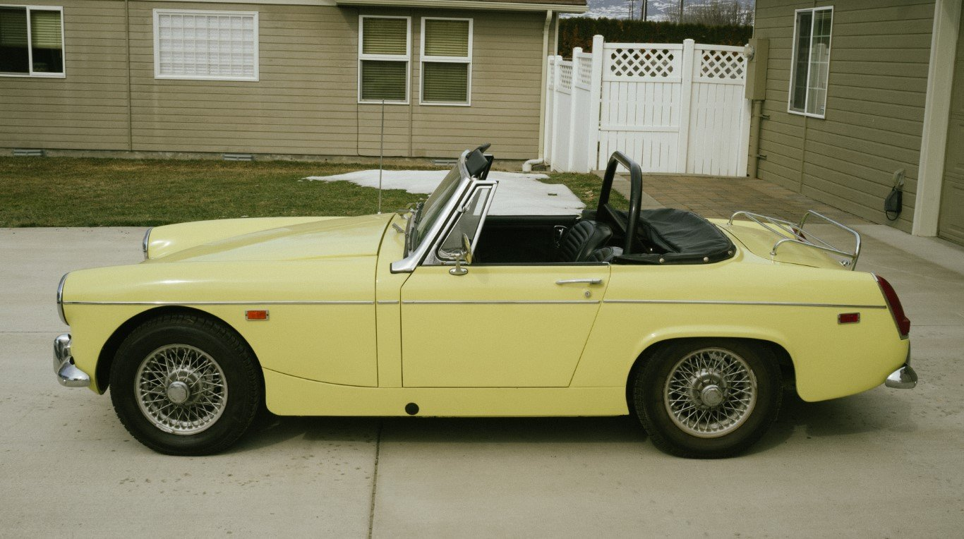 1969 MG Midget NO RESERVE For Sale by Auction (picture 2 of 6)