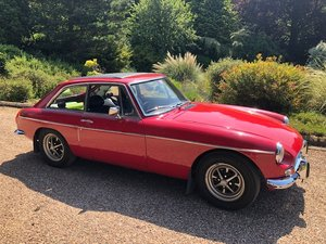 1972 MGB GT RED CHROME BUMPERS REBUILT ENGINE OD For Sale