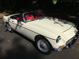 1968 Professionally restored MGC Roadster, Overdrive For Sale