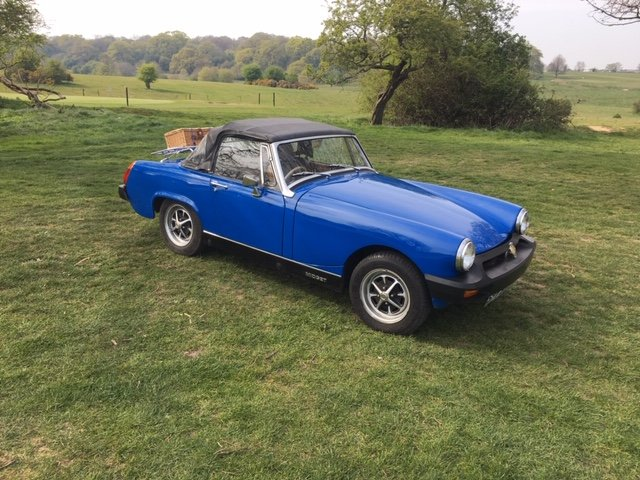 1977 MG Midget 1500, Full MOT, exempt from RFL, SOLD (picture 5 of 6)