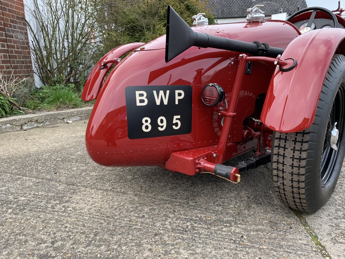 1938 MG TA Special Alloy Bodied Boat Tail  For Sale (picture 3 of 6)