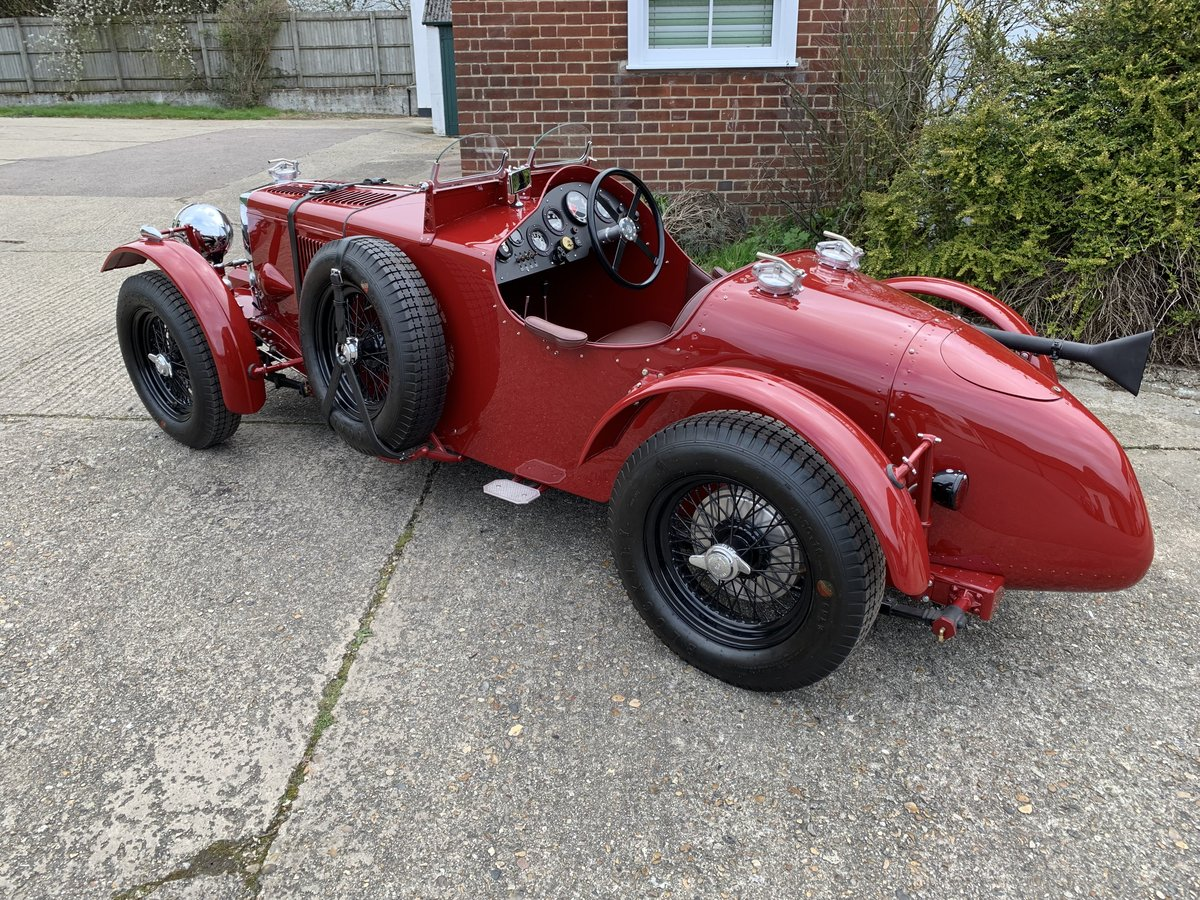1938 MG TA Special Alloy Bodied Boat Tail  For Sale (picture 4 of 6)