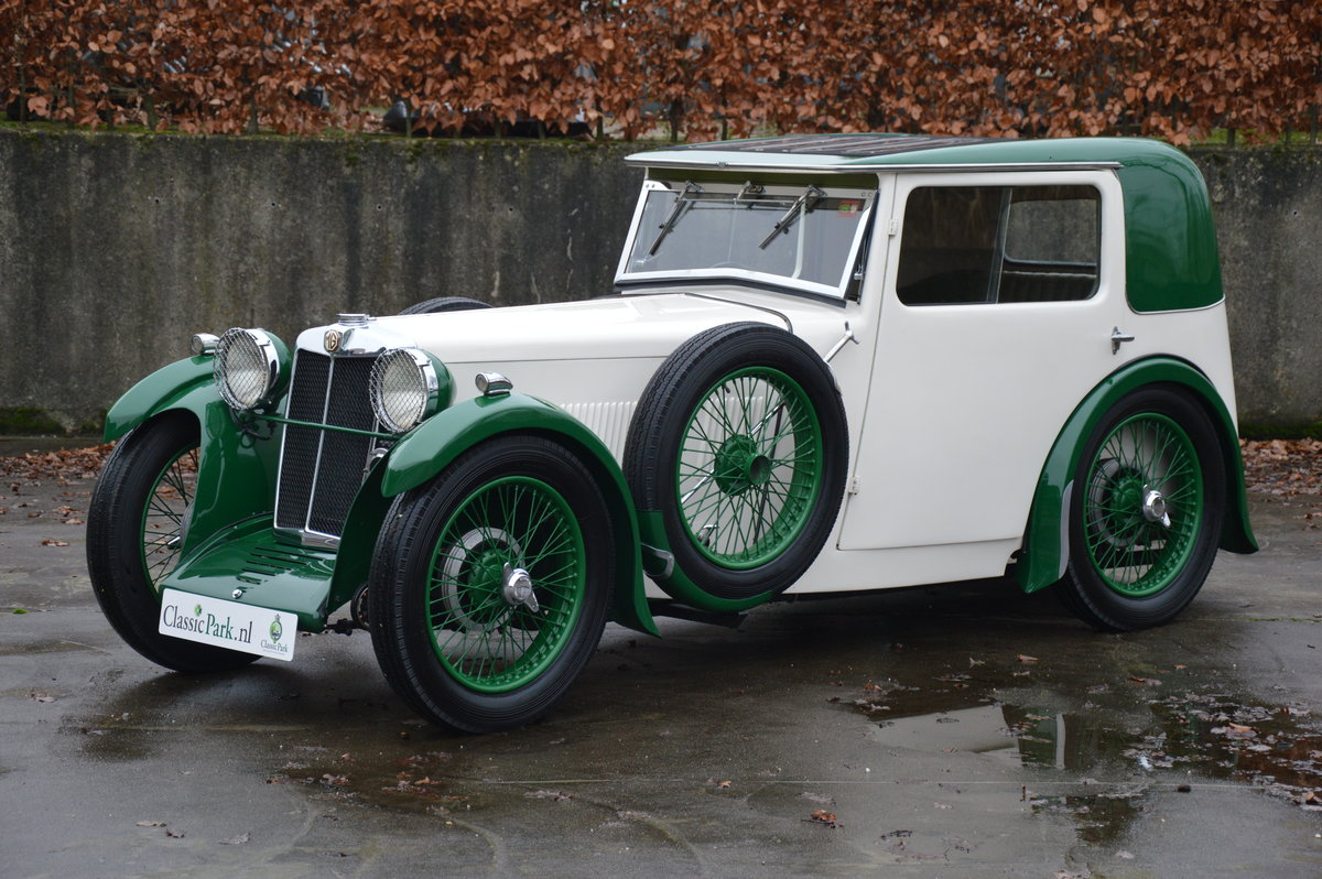 (1003) MG F-Type Magna Salonette - 1933 For Sale (picture 1 of 6)