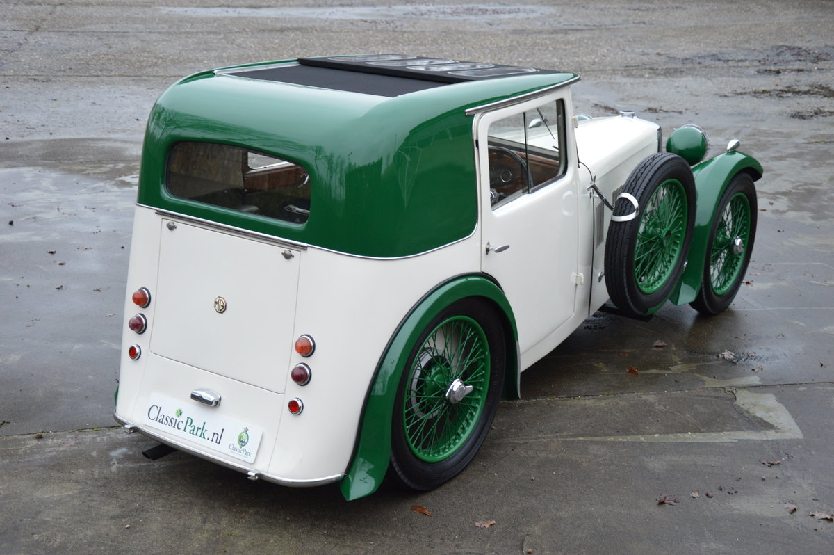 (1003) MG F-Type Magna Salonette - 1933 For Sale (picture 2 of 6)