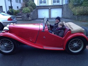 Nice MG TC from 1947 For Sale