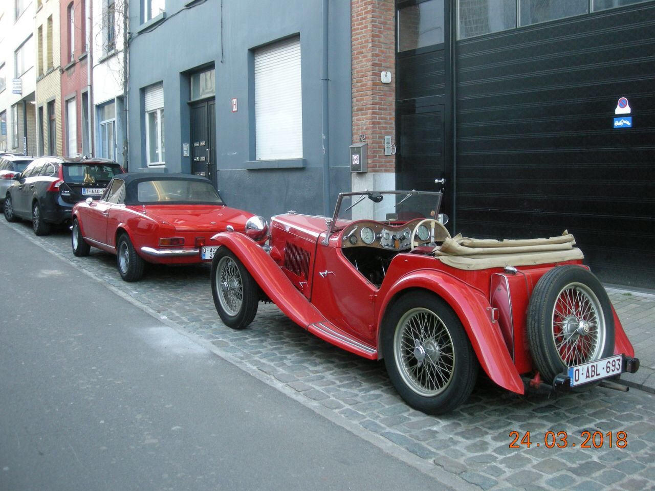 Nice MG TC from 1947 For Sale (picture 3 of 6)
