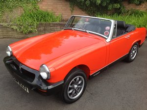 1980 MG Midget 1500, 8000 miles only! For Sale