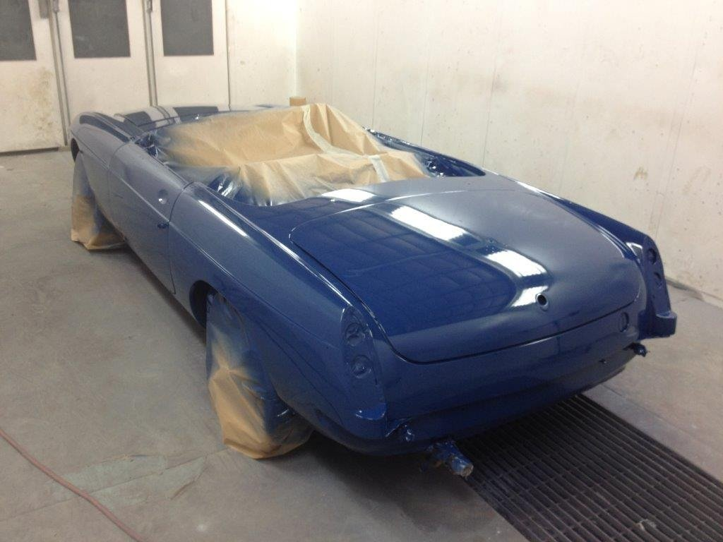 1966 Blue MGB roadster For Sale (picture 4 of 6)