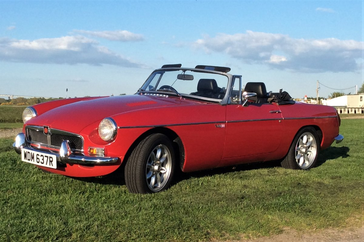 1977 MGB V8 ROADSTER For Sale (picture 1 of 6)