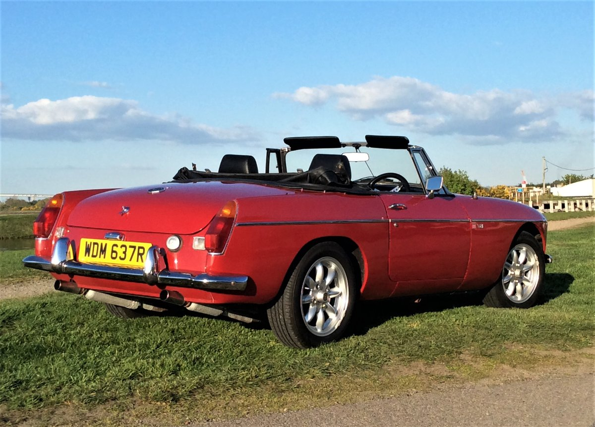1977 MGB V8 ROADSTER For Sale (picture 2 of 6)