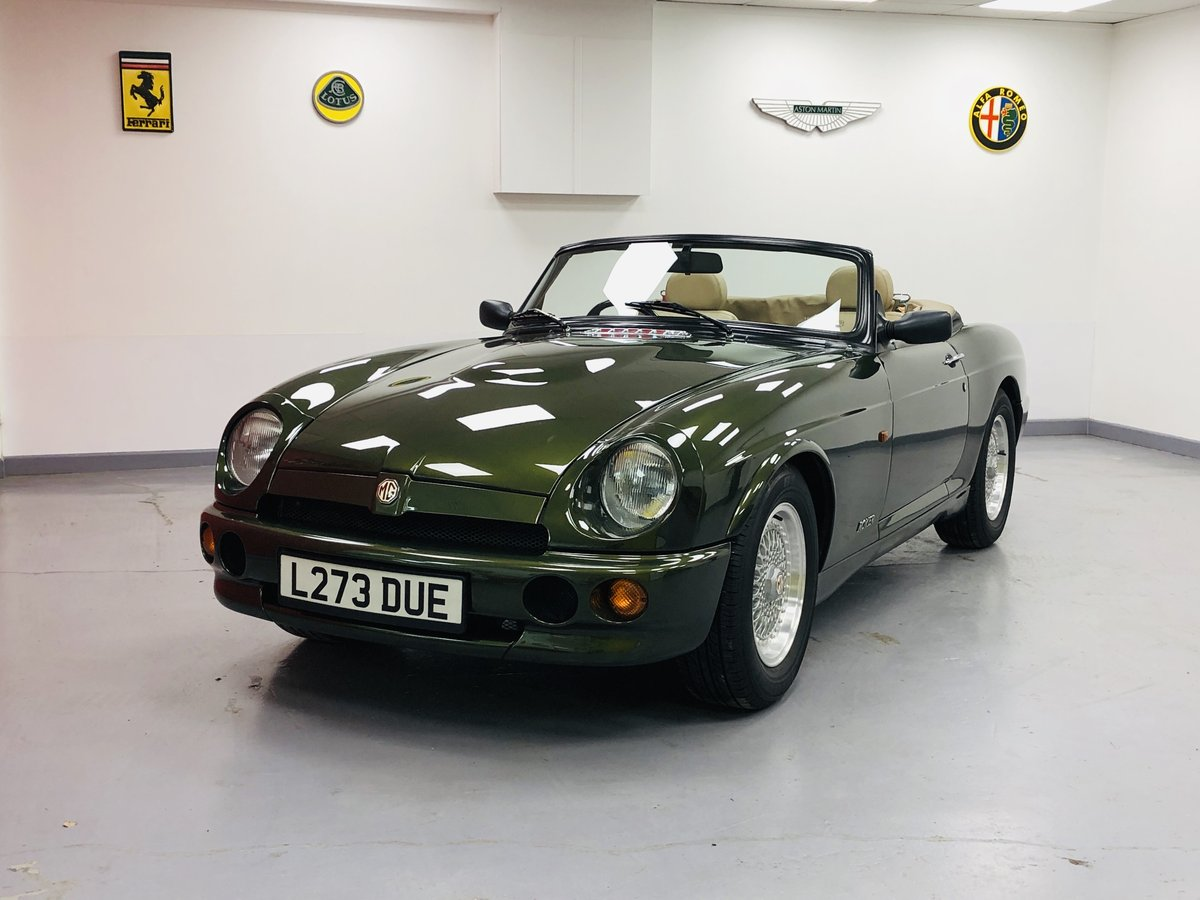 1994 MG RV8 3.9L V8 Roadster. For Sale (picture 1 of 6)