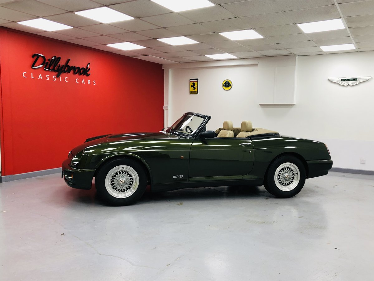 1994 MG RV8 3.9L V8 Roadster. For Sale (picture 3 of 6)