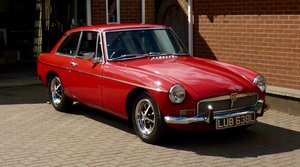 1972 MGB GT, 4 Speed with Overdrive
