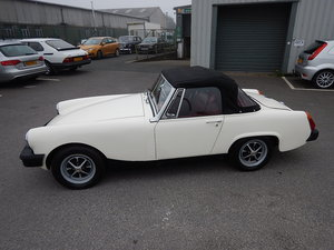 1978 MG Midget 1500 ~ Red Leather ~ Mohair Hood ~  For Sale
