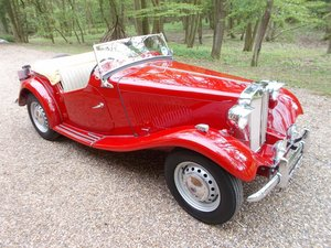 1953 MG TD2 Nut & Bolt Rebuild  For Sale