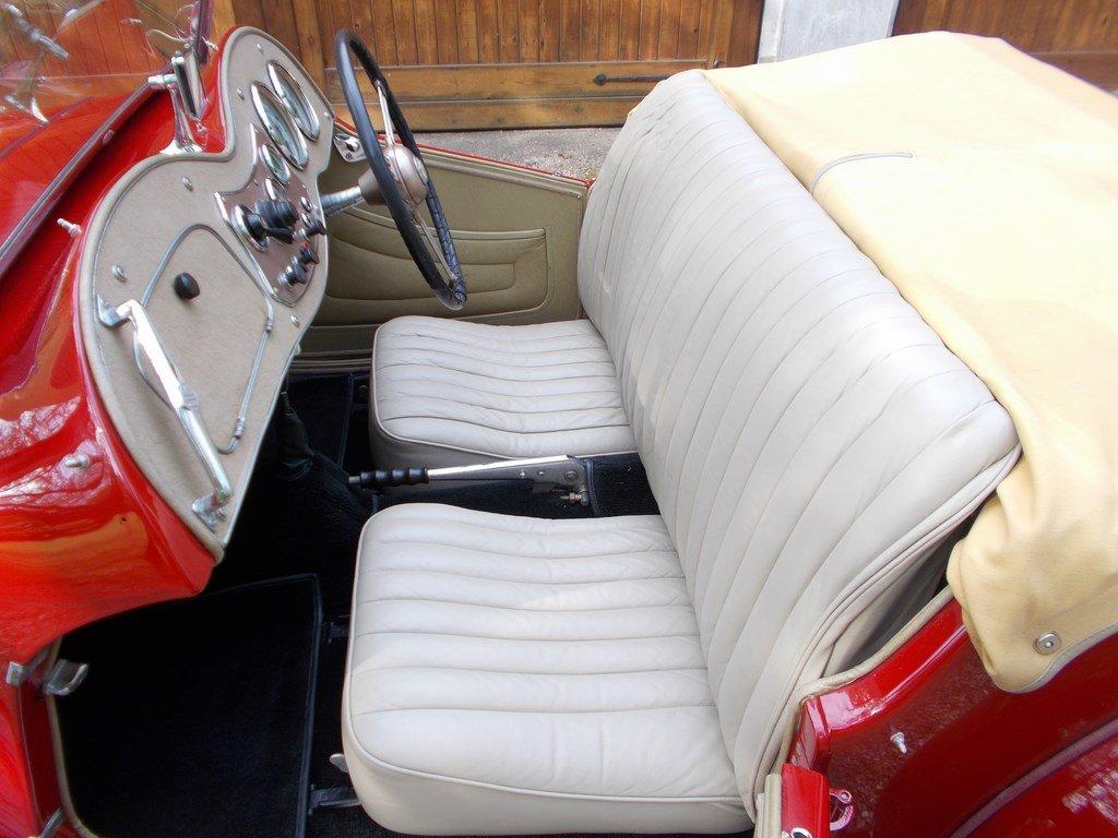 1953 MG TD2 Nut & Bolt Rebuild  SOLD (picture 3 of 6)