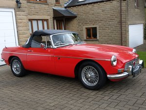 MGB Roadster, chrome bumper, O/D, 1972 For Sale