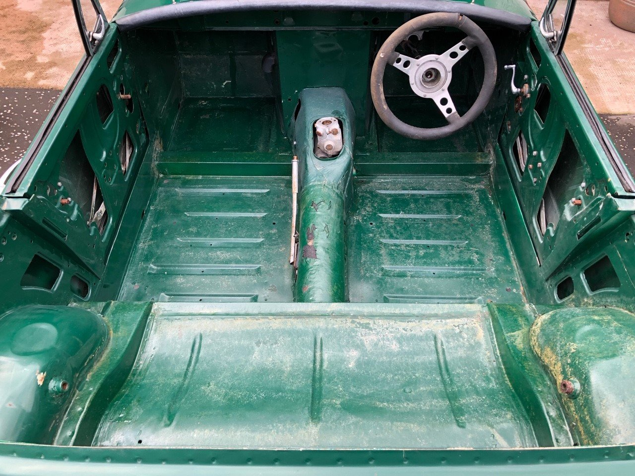 2000 Mg Midget - Brand New Heritage Bodyshell SOLD (picture 5 of 6)