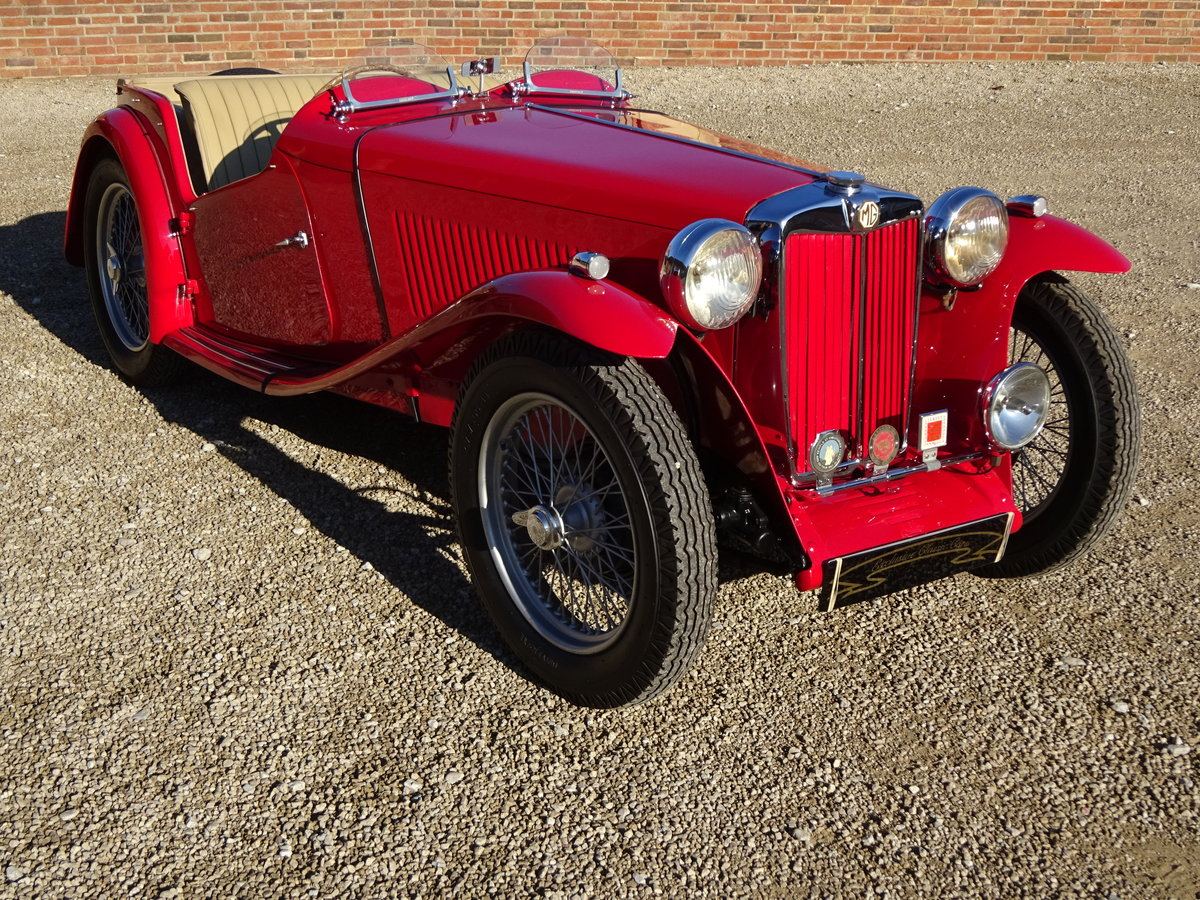 MG TC 1949 RESTORED TO HIGH STANDARD BY PREV OWNER For Sale (picture 1 of 6)