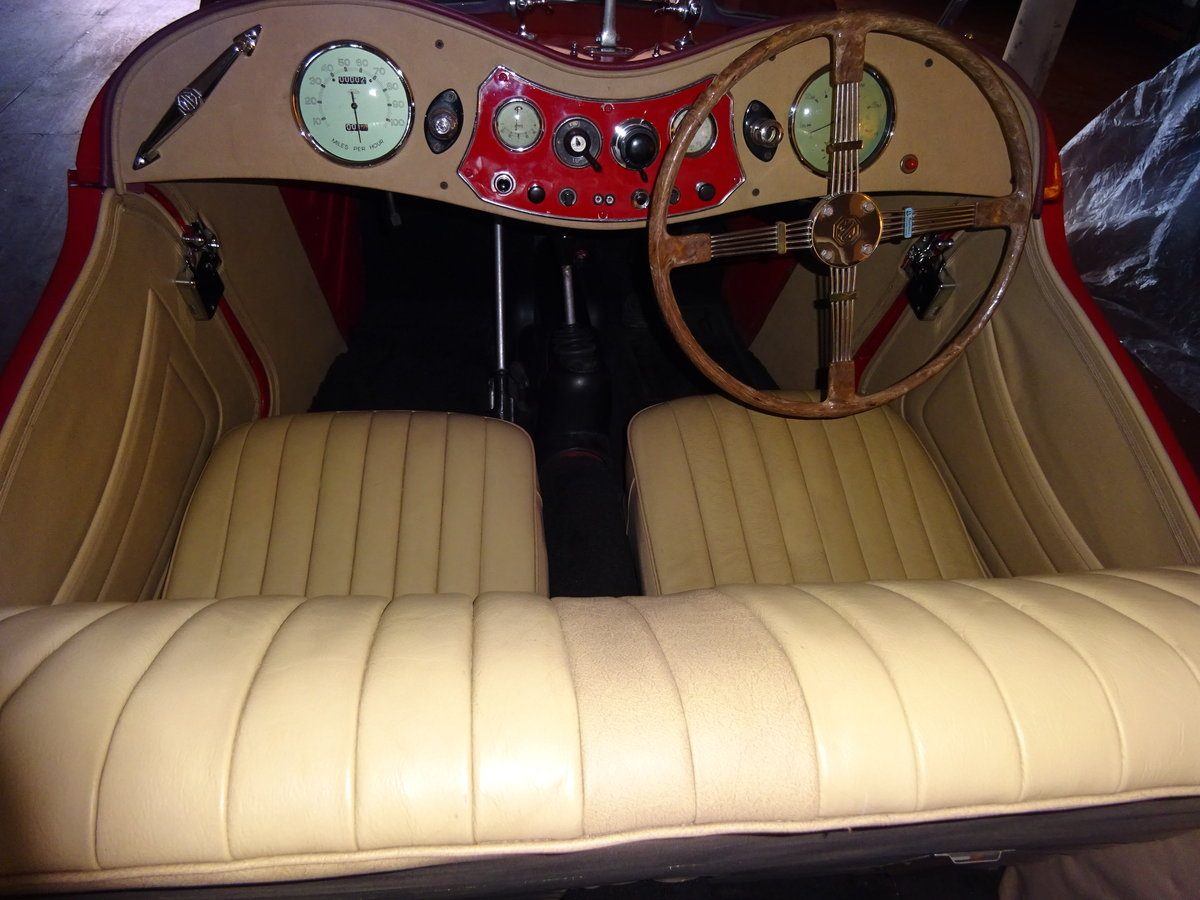 MG TC 1949 RESTORED TO HIGH STANDARD BY PREV OWNER For Sale (picture 2 of 6)