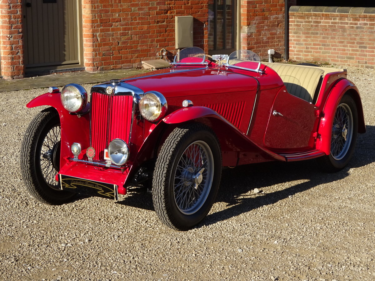 MG TC 1949 RESTORED TO HIGH STANDARD BY PREV OWNER For Sale (picture 5 of 6)