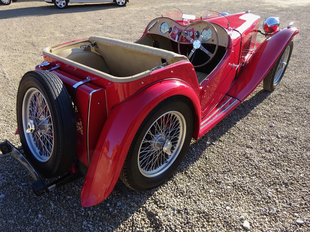 MG TC 1949 RESTORED TO HIGH STANDARD BY PREV OWNER For Sale (picture 6 of 6)